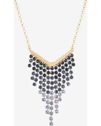 Ted Baker - Crystal Drop Necklace - Lyst