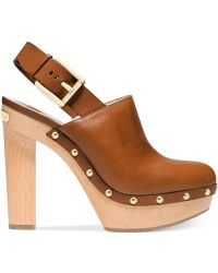 Michael Kors Michael Beatrice Sling Clogs - Lyst