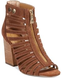 Report Signature Prescott Caged Sandals - Lyst