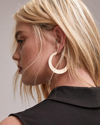 Addition Elle - Two-layer Hoop Earrings - Lyst