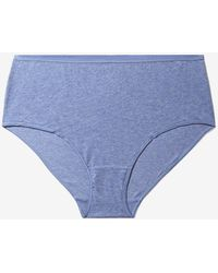 Addition Elle - Heathered Full Brief Panty - Déesse Collection - Lyst