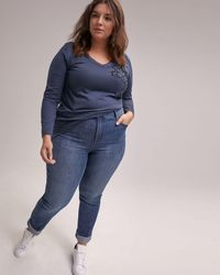 701300c3c0d Addition Elle - Slightly Curvy Straight Leg Jean - D c Jeans - Lyst