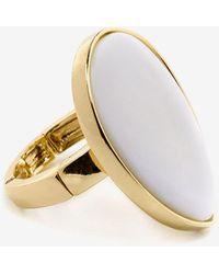 Addition Elle - Shell Stretch Ring - Lyst