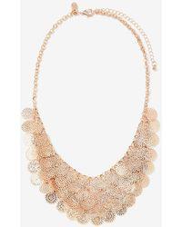 Addition Elle - Filigree Bib Necklace - Lyst