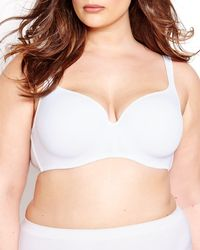 Addition Elle - Basic Contour Flirt Padded Underwire Bra - Déesse Collection - Lyst