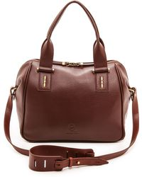 McQ by Alexander McQueen The Yt Satchel  Bordo - Lyst