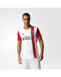 adidas - Earthquakes Away Jersey - Lyst
