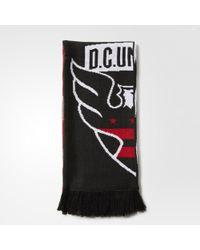 adidas - D.c. United Jacquard Scarf - Lyst