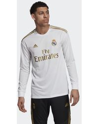 fc4d1d2f55e adidas Real Madrid Cf 2017-2018 Swt Training T-shirt in Black for Men - Lyst