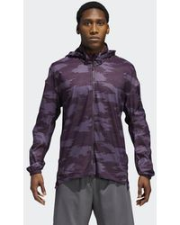95b7f76ba Lyst - adidas Originals Supernova Storm Running Jacket in Gray for Men