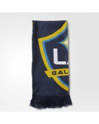 adidas - La Galaxy Jacquard Scarf - Lyst