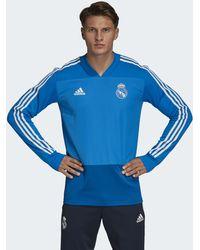 adidas - Real Madrid Trainingsoberteil - Lyst