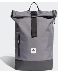 4cf4895249 adidas - Premium Essentials Roll-top Backpack - Lyst