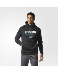 adidas - Sharks Authentic Pro Player Hoodie - Lyst