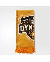 adidas - Houston Dynamo Jacquard Scarf - Lyst