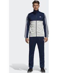 adidas - Back 2 Basics 3-stripes Track Suit - Lyst