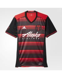 adidas - Timbers Away Replica Jersey - Lyst