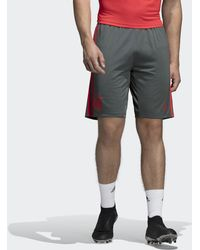 05195d4fe3 adidas 2018-2019 Bayern Munich Away Shorts Men's Shorts In Purple in ...