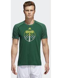 adidas - Portland Timbers Redirection Logo Tee - Lyst