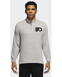 Lyst - adidas Flyers Jersey Pullover Hoodie in Black for Men fef7db809