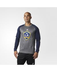 adidas - La Galaxy Ultimate Crew Sweatshirt - Lyst