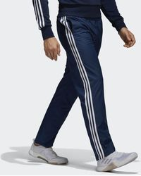 bd3547983 adidas Big Tall Essentials 3-stripes Regular Fit Tricot Pants (collegiate  Navy/white) Men's Casual Pants in Blue for Men - Lyst