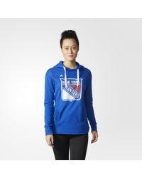adidas - Rangers Logo Shine Hoodie - Lyst