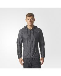 c418f6697d984 Lyst - adidas Camouflage Bb Wind Packable Jacket in Black for Men
