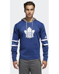 adidas - Maple Leafs Platinum Jersey Hoodie - Lyst