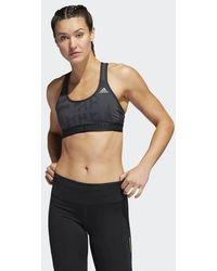 ac9fbd5b1129a adidas - Boston Marathon® Drst Alphaskin Tech Bra - Lyst