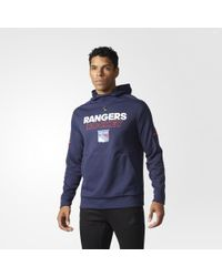 adidas - Rangers Authentic Pro Player Hoodie - Lyst