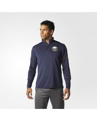 adidas - Sabres Authentic Pro Jacket - Lyst