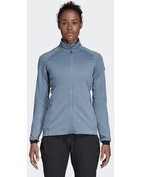 6abb2d1f3178 Lyst - adidas Originals Light Down Jacket in Pink