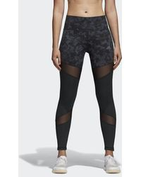 adidas - Ultimate High-rise Printed Tights - Lyst