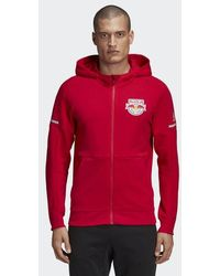 adidas - New York Red Bulls Travel Jacket - Lyst