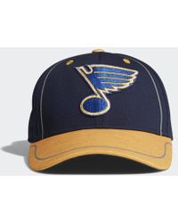 c0937a67e53 Lyst - adidas Blues Adjustable Slouch Hat in Blue for Men