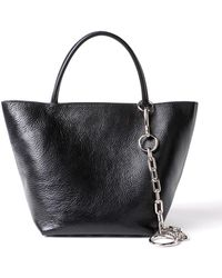 de70bbcbe6f7 Lyst - Alexander Wang Black Small Soft Roxy Tote in Black