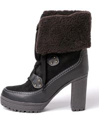 See By Chloé - Claudia Black Ankle Boots - Lyst