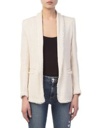 IRO - Quanto Cream Jacket - Lyst