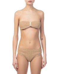 She Made Me - Sita Bandeau Top - Lyst