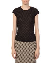 M Missoni - Black Tank Top - Lyst