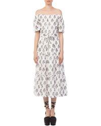 A.L.C. - Doris White Dress - Lyst