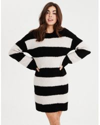 American Eagle - Ae Rugby Stripe Sweater Dress - Lyst