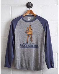 Tailgate - Men's West Virginia Baseball Shirt - Lyst