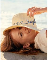 American Eagle - Embroidered Panama Hat - Lyst
