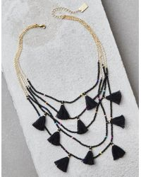 American Eagle - Ae Circle & Heart Necklace - Lyst