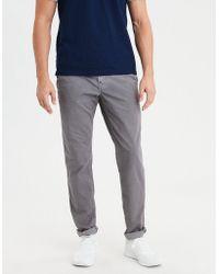 American Eagle - Ae Ne(x)t Level Slim Khaki Pant - Lyst