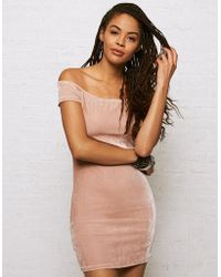 American Eagle - Don't Ask Why Off-the-shoulder Dress - Lyst