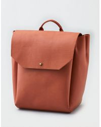 American Eagle - Structured Backpack - Lyst