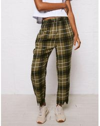 American Eagle - Don't Ask Why Straight Leg Cropped Pant - Lyst